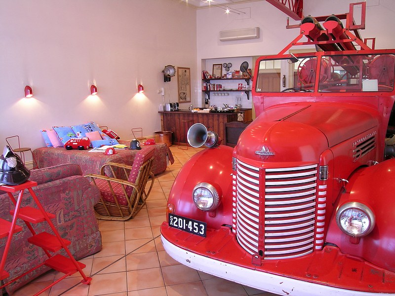 The Fire Station Inn - Fire Engine Suite - Accommodation Resorts