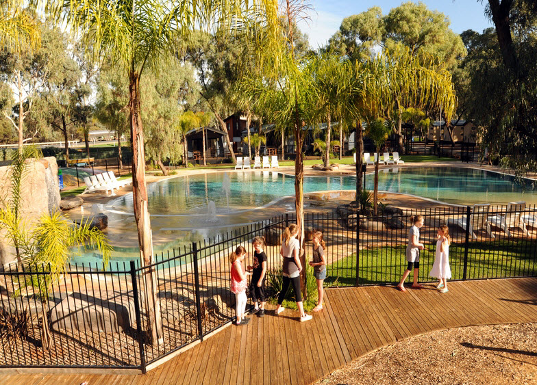 BIG4 Renmark Riverfront Caravan Park - Accommodation Resorts
