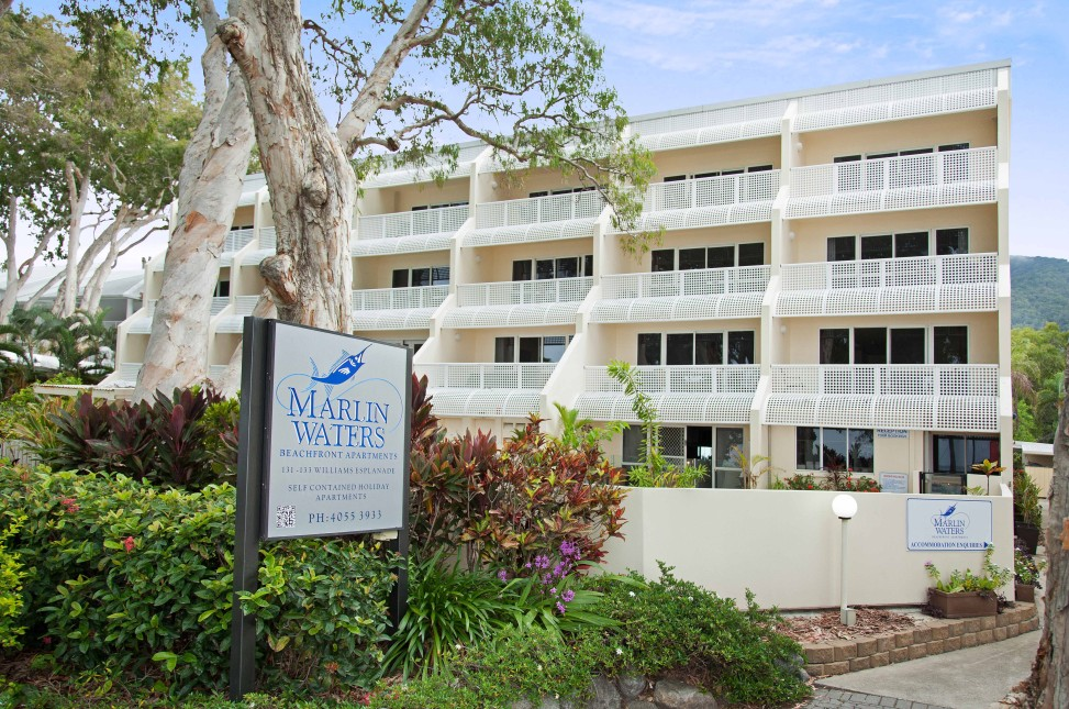 Marlin Waters Beachfront Apartments - Accommodation Resorts