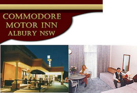 Commodore Motor Inn - Accommodation Resorts