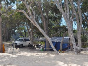 Moreton Island National Park and Recreation Area camping - Accommodation Resorts