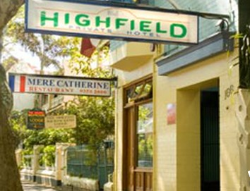 Highfield Private Hotel - Accommodation Resorts