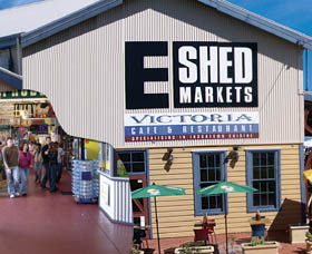 The E Shed Markets - Accommodation Resorts
