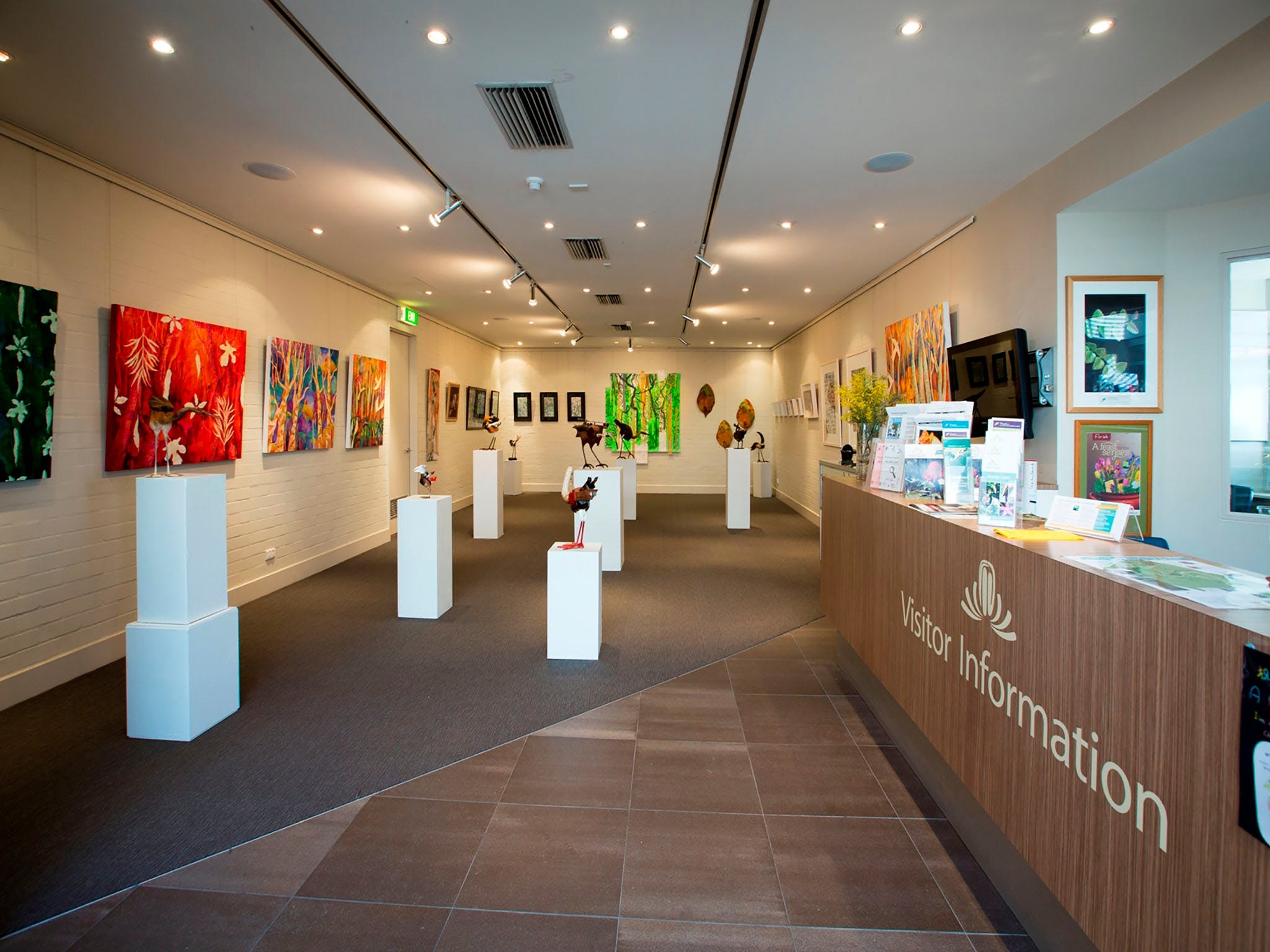 Australian National Botanic Gardens Visitor Centre Gallery - Accommodation Resorts