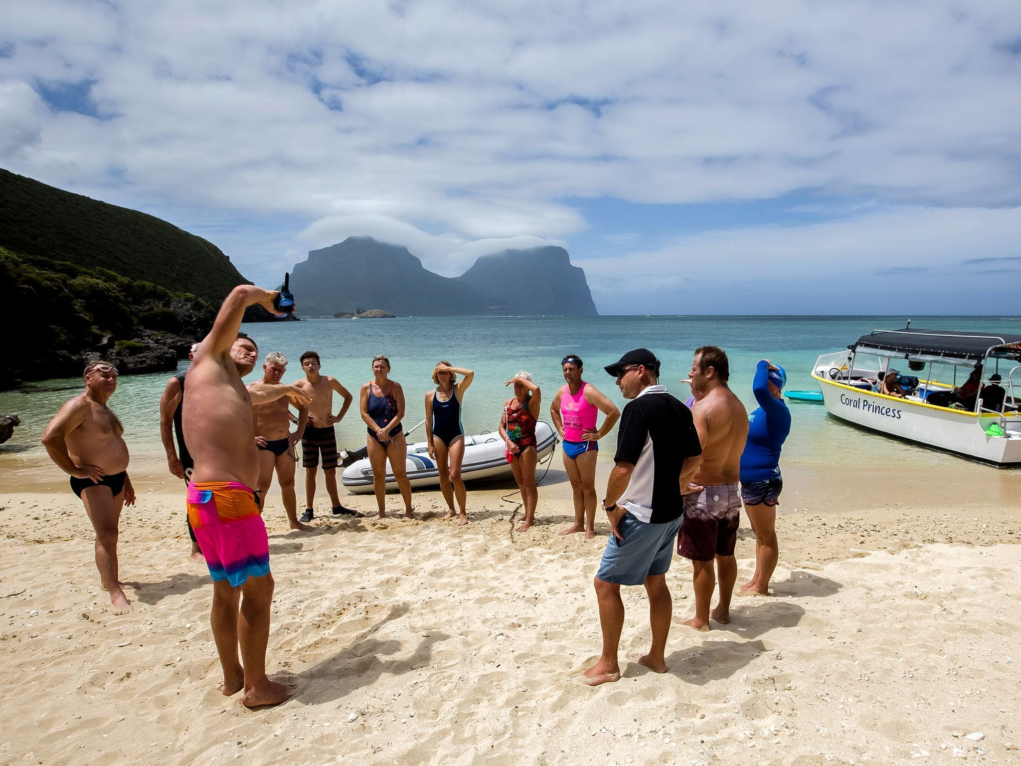 Ocean Swim Week with Trevor Hendy Pinetrees Lord Howe Island - Accommodation Resorts