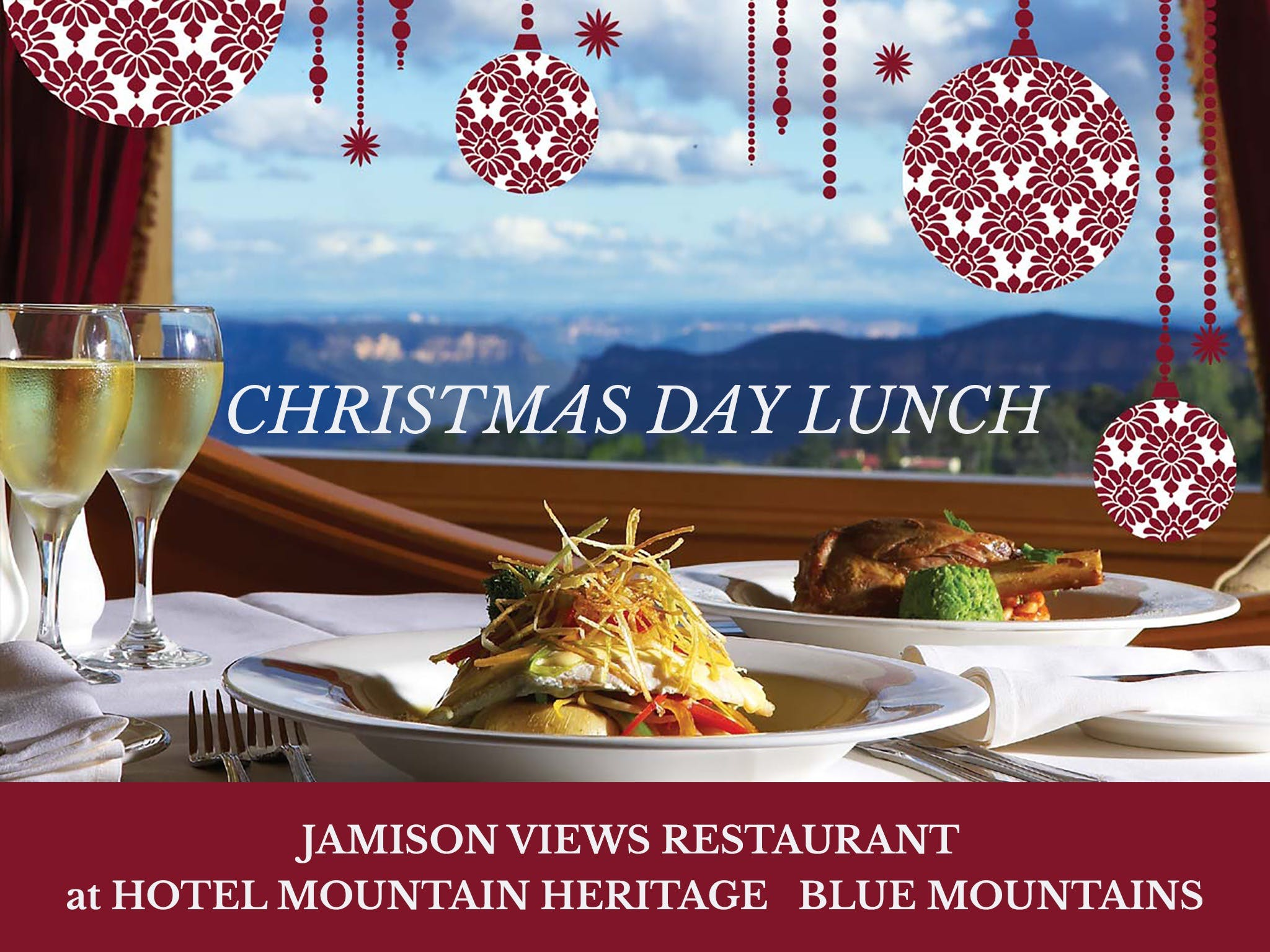 Christmas Day Lunch Hotel Mountain Heritage - Accommodation Resorts
