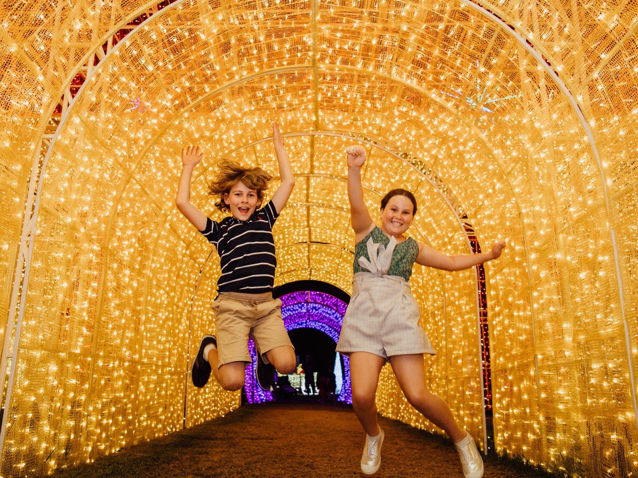 Christmas Lights Spectacular New Year's Eve at Hunter Valley Gardens - Accommodation Resorts