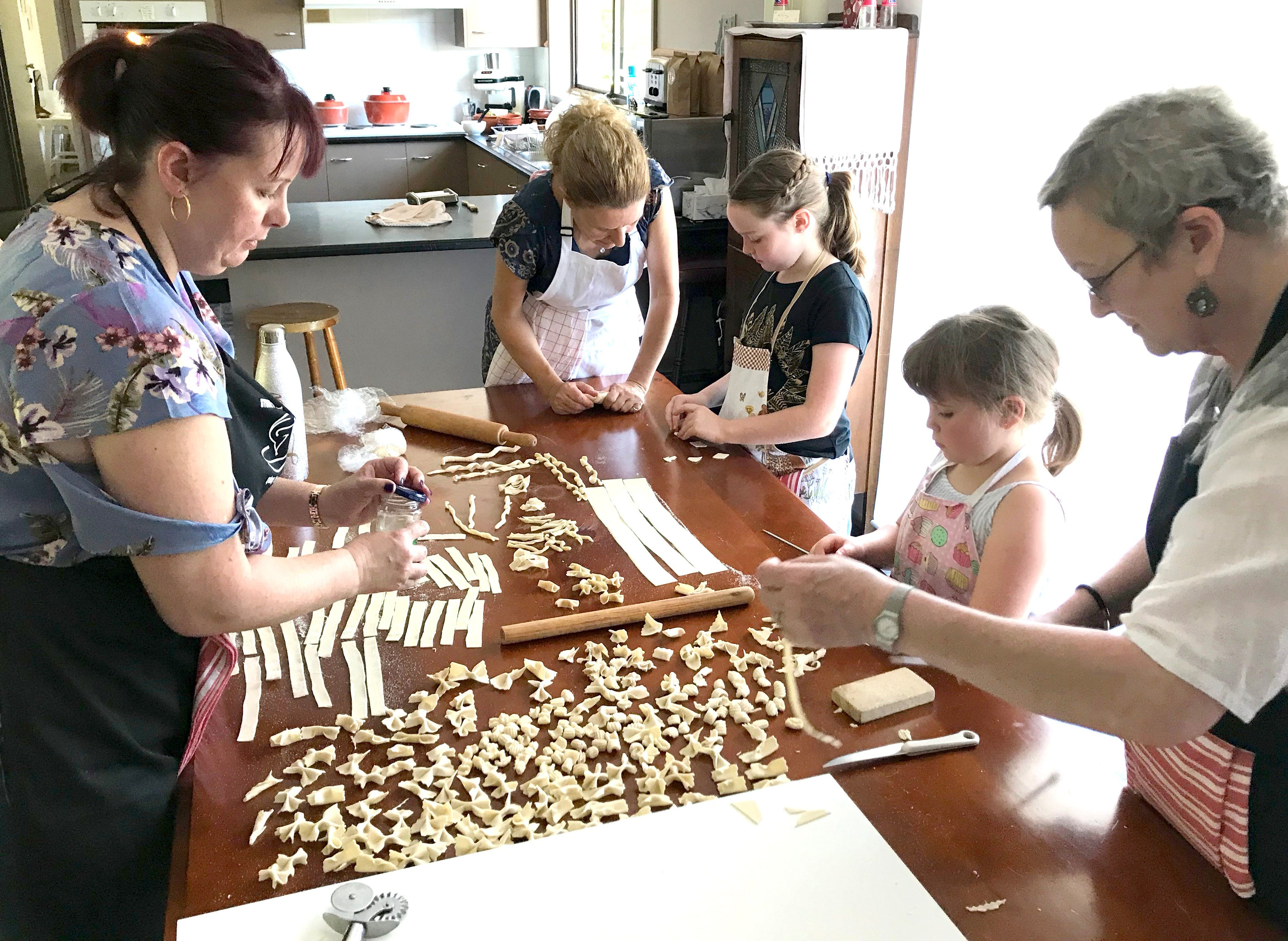Kids Pasta Making Class - hands on fun at your house - Accommodation Resorts