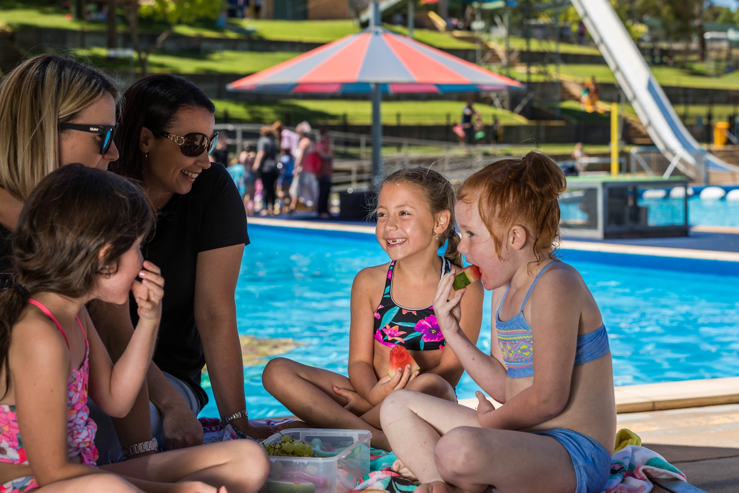 Australia Day fun at Lake Talbot Water Park - Accommodation Resorts