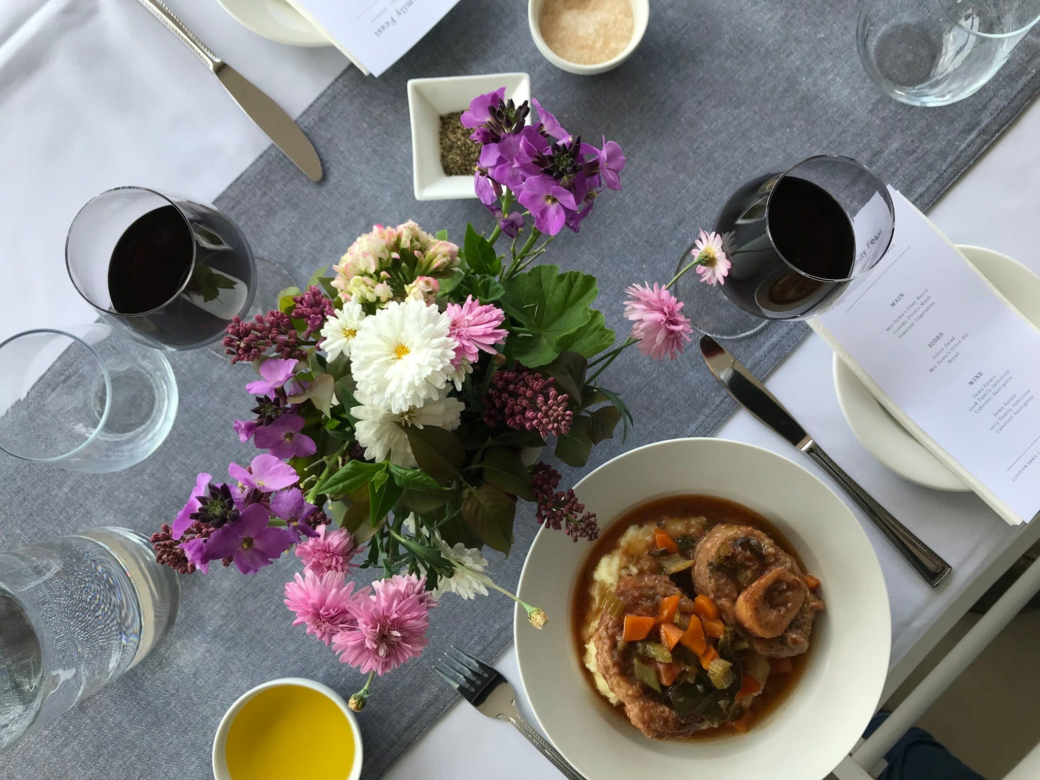 The Family Feast  Three Coonawarra families three tables three courses. - Accommodation Resorts