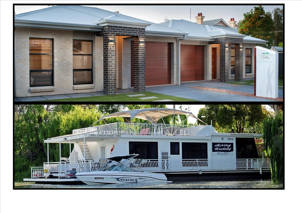 Renmark River Villas and Boats  Bedzzz - Accommodation Resorts